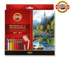Original High Quality Koh-i-noor Mondeluz Coloured Aquarell crayons pencil 72pcs