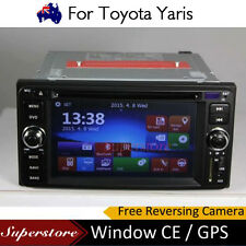6.2 inch  CAR DVD GPS Player head unit navigation usb For Toyota Yaris 2005-2011
