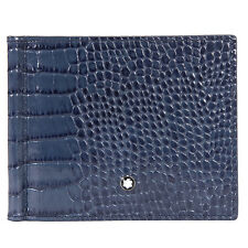 Montblanc Meisterstuck Selection Leather Wallet- Indigo