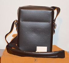 LOUIS VUITTON BOBBY GLACE MONOGRAM LEATHER CROSSBODY MESSENGER BAG