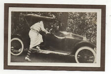 PHOTO - Snapshot - Voiture Automobile Auto Femme - Vers 1930 - Vintage.