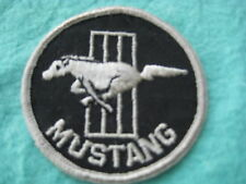 """Vintage Ford Mustang Racing Patch  3 """" X 3 """""""
