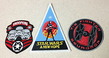 Star Wars Tie Fighter Squadron Troopers New Hope Iron-on Embroidered Patch Any 3