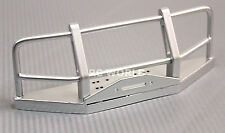 RC Truck FRONT BULL BAR METAL BUMPER For Gelande Land Rover Defender 90 -SILVER-