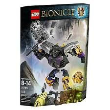 LEGO BIONICLE FIGURE ONUA MASTER OF EARTH #70789 108 PIECES New in Box