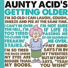 Aunty Acid's Getting Older by Ged Backland and Aunty Acid (2013, Hardcover)