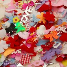 100 Fabric Embellishment Mixed Mystery Pack