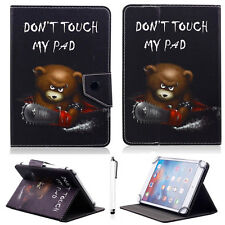"For Samsung Galaxy Tab A 10.1"" T580 P580 Cute Bear PU Leather Stand Case Cover"