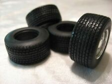 RUBBER/RESIN BIG RIG REAR TIRES 1/25TH SCALE-AGGRESSIVE TREAD