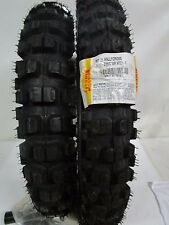 COPPIA GOMME PIRELLI CROSS RALLY MT21 90/90-21 120/90-18 DOT 2014