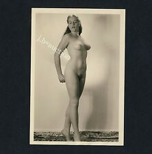 #238 RÖSSLER AKTFOTO / NUDE WOMAN STUDY * Vintage 1950s Studio Photo - no PC !