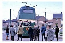 gw0567 - Teeside Trolleybus no 16 in 1968 - photograph