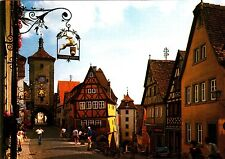 Rothenburg o.d. Tauber , Plönlein , Ansichtskarte ; 1988 gelaufen
