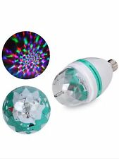 240V LED Rotating Disco Party Light Bulb 1.5W Novelty Coloured Bayonet B22