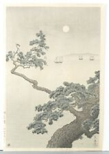 Modern Japanese woodblock print, Koitsu Tsuchiya. Lot 377