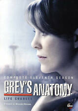 Grey's Anatomy: Complete Eleventh Season 11 (DVD, 2015, 6-Disc Set)