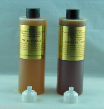 LEATHERIQUE LEATHER RESTORATION REJUVINATOR OIL PRESTINE CLEAN 16OZ FLIP TOP CAP