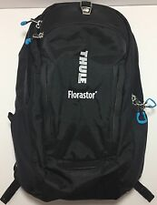 Black Thule Enroute Strut Backpack Embroidered Please See Photo New With Tag