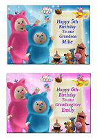 507 Personalised greeting card; Baby tv Billy Bam Bam & Cuddlies; Special Great