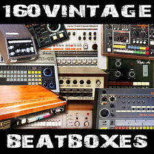 Vintage Drum machine beatboxes Kontakt Battery Maschine Ableton live sample MPC