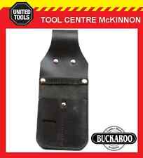 BUCKAROO TMSKP AUSTRALIAN MADE LEATHER STANLEY KNIFE, PENCIL & PUNCH POUCH
