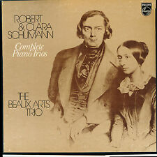 Schumann,R & Clara Piano Trios Beaux Arts Trio International Preview Society 3LP