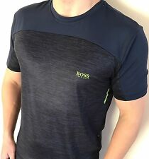 Hugo Boss Mens  t-shirt Green Label BNWT New Light Blue Size Large *Modern Fit*