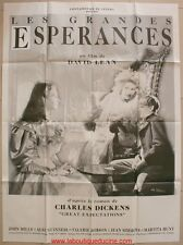 LES GRANDES ESPERANCES Affiche Cinéma / Movie Poster DAVID LEAN
