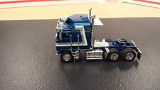 USED LOOSE KW K100 BLUE HIGH TOP OWNER OPERATOR TRUCKING SEMI CAB TRUCK 1:64/ B