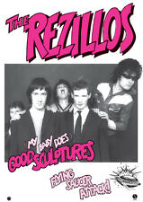 "REZILLOS -Good Sculptures Retro Punk Poster A1 Size 84.1cm x 59.4cm - 33"" x 24"""