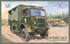 Bedford Qld servicio general (británicos, polacos, Soviética mkgs) 1/35 IBG