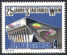 Austria 1983 Music/Arts/Building/Architecture/Entertainment 1v (n32033)