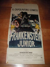 LOCANDINA FRANKENSTEIN JUNIOR MEL BROOKS GENE WILDER PETER BOYLE MARTY FELDMAN