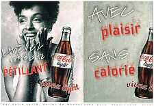 Publicité Advertising 2008 (2 pages) Coca Cola Light