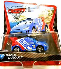 Mattel Disney Pixar Cars 2 HOT Diecast TOY Raoul CaRoule 1:55 2010 Nice Wheels