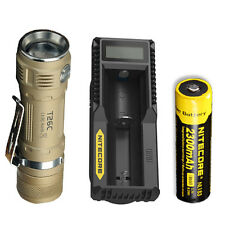 Bundle: Sunwayman T26C Flashlight w/NL183 Battery & UM10 Charger