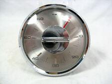 70´s Einbau Kurzzeitmesser mechanisch 60 Minuten  für  Küchenschrank o.ä.