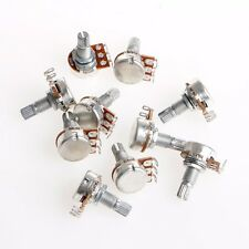 10Pcs Durable A100K OHM Audio Tone Guitar Potentiometer 16mm Base High Quality