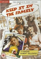 KEEP IT IN THE FAMILY - Series 1. Robert Gillespie, Pauline Yates (DVD 2010)