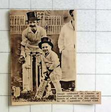 1938 Slough Charter Of Incorporation Carnival Cippenham Cricket Club Tableau
