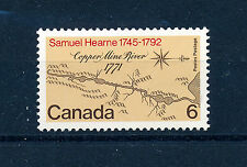 CANADA 1971 BICENTENARY OF SAMUEL HEARNE'S EXPEDITION SG682 BLOCK OF 4 MNH