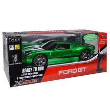Ford GT Electric R/C Car by Xstreet (Green) 1:10 Scale Licensed & Ready to Run
