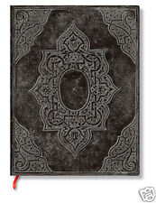 Paperblanks Blank Lined Writing Journal Concordia Black Midi Size 5X7 NWT