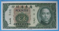 Republic of China 1935 Kwangtung Provincial Bank 20 Cents Local Currency 426711