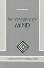 Philosophy of Mind by Jaegwon Kim (1996, Paperback, Revised)