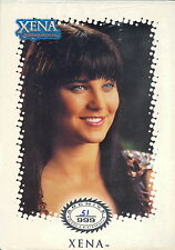 XENA WARRIOR PRINCESS ARCHIVE COLLECTION 2001 SEALED CARD SET # 51 TV BASE