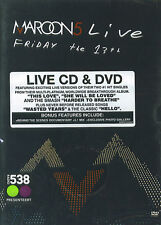 Maroon5 : Live - Friday le 13th (DVD & CD)