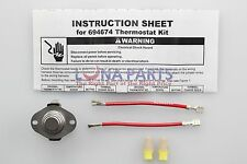 Genuine OEM Whirlpool Kenmore Cycling Thermostat 694674 OEM WP694674
