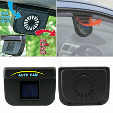 CAR VAN TRUCK WINDOW VENTILATOR COOL AIR VENT COOL PETS FAN SOLAR SUN POWERED WD