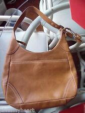 Camel Couch Leather Purse Hand Bag Purse C0782-F10280